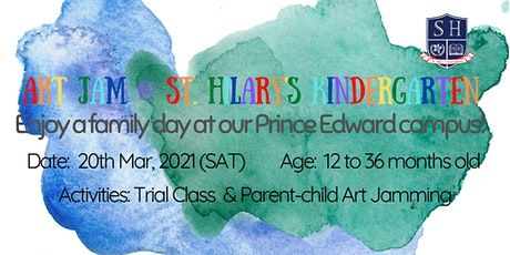 Art Jam @  (Prince Edward Campus) St. Hilary's Kindergarten tickets