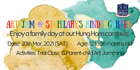 Art Jam @  (Hung Hom Campus)St. Hilary's Kindergarten tickets