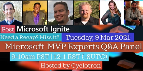 Post Microsoft Ignite Experts Panel tickets