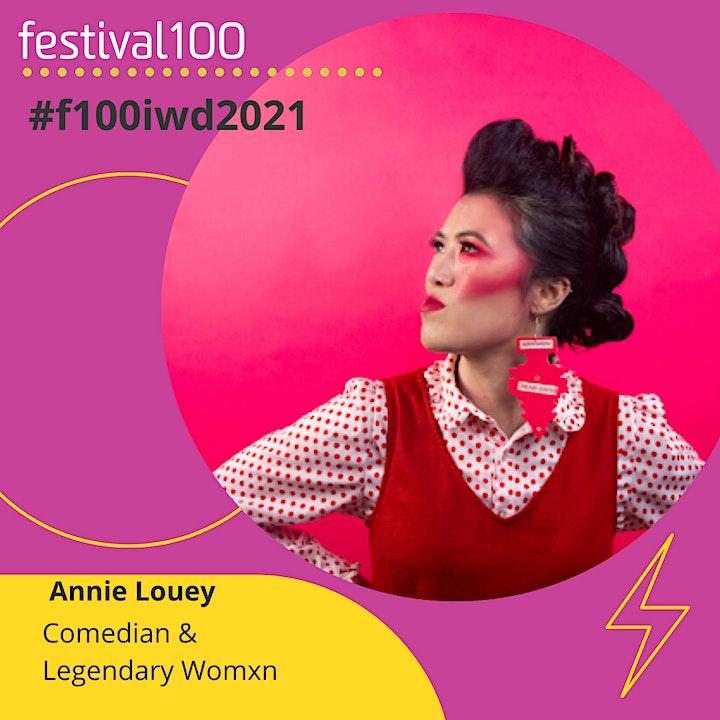 #festival100 | A startup conference for 100 women & non-binary innovators image