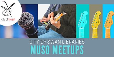 Midland Library Muso Meetups (Mondays) tickets