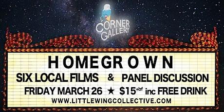 The Corner Gallery Cinema: HOMEGROWN tickets