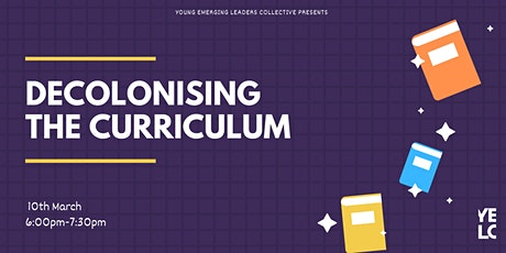 Decolonising the Curriculum Event tickets