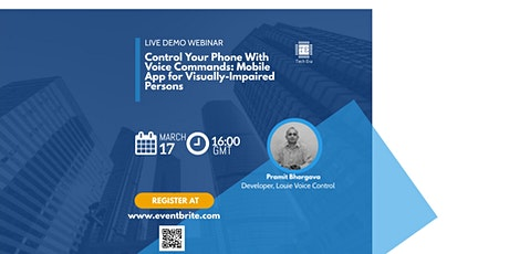 Live Demo Webinar: Mobile App for Blind and Visually-Impaired Persons tickets