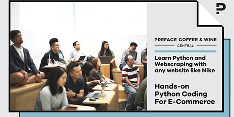 """Python For E-commerce"" Hands-on Coding Workshop tickets"