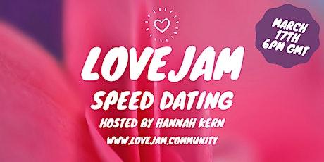 Lovejam Speed Dating tickets