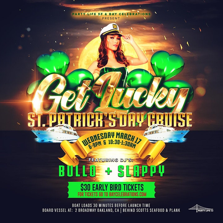 GET LUCKY ST. PATRICKS DAY MIDNIGHT CRUISE 2021 image