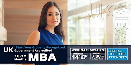 Free Webinar - WES and Internationally Recognized,UK & European MBA tickets