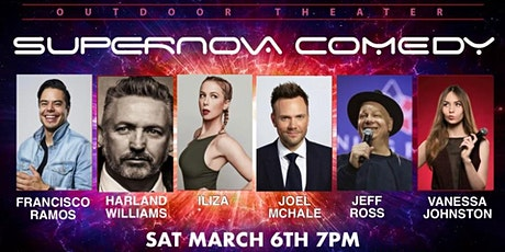 ILIZA, JEFF ROSS, JOEL MCHALE AND HARLAND WILLIAMS OUTDOOR COMEDY SHOW tickets