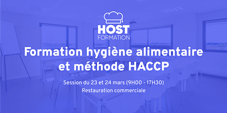 Formation hygiène alimentaire HACCP tickets