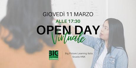 Big Picture Learning Italia - Open Day virtuale biglietti