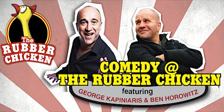 George Kapiniaris at The Rubber Chicken tickets