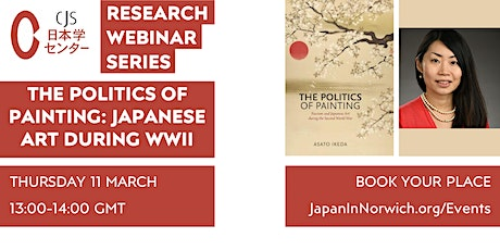CJS-RS: The Politics of Painting - Japanese Art during the Second World War tickets