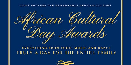 African Cultural Day Awards tickets