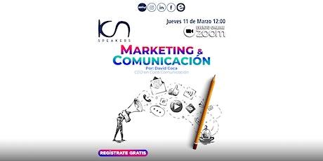"""KCN SPEAKERS - """"Marketing & Comunicación"""" entradas"""