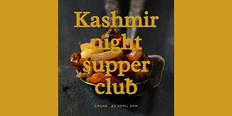 The Supper Club : Kashmir Night Bollywood Adventures tickets