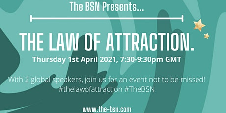 The Law of Attraction tickets