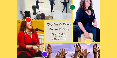 Rhythm & Voice...Drum & Sing - Spring Series tickets