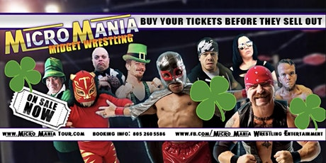 Midget Wrestling St Paddy's Day at the BFE Rock Club Houston, TX tickets