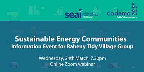 Setting up a Sustainable Energy Community in Raheny tickets