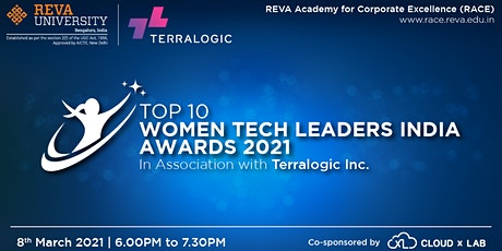 Top 10 Women Tech Leaders India Awards 2021 tickets
