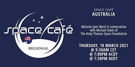 Space Café Australia #02 by Melanie Jane Ward tickets