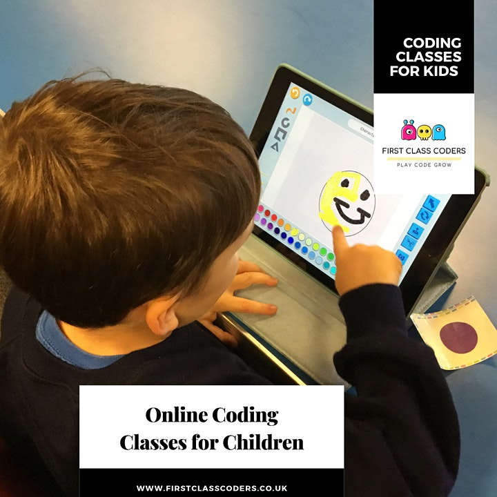 Trial Coding  Class 5-9 years olds (ScratchJr) image