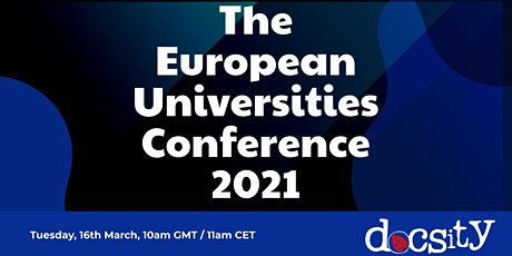 The  European  Universities  Conference  2021 tickets