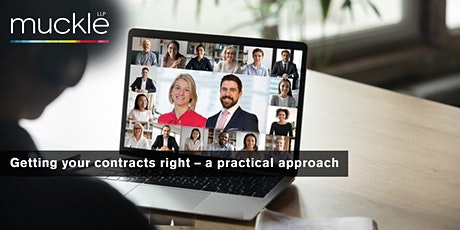 Getting your contracts right - a practical approach tickets