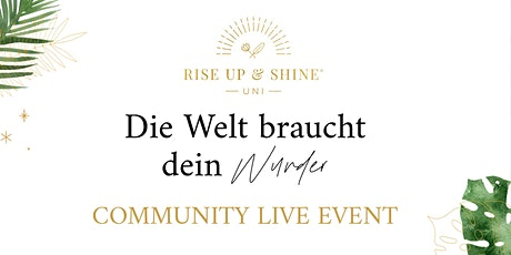 TeamLiebe Community Live Event by Laura Malina Seiler Tickets