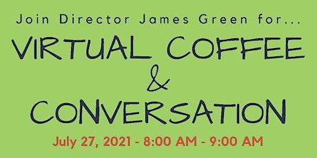 July 27  Coffee & Conversation tickets