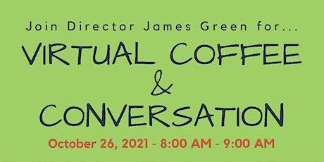 October 2021  Coffee & Conversation tickets