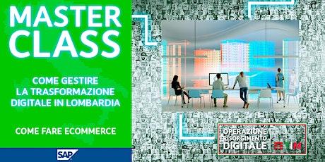 Come gestire la trasformazione digitale in Lombardia - Come fare E-commerce biglietti