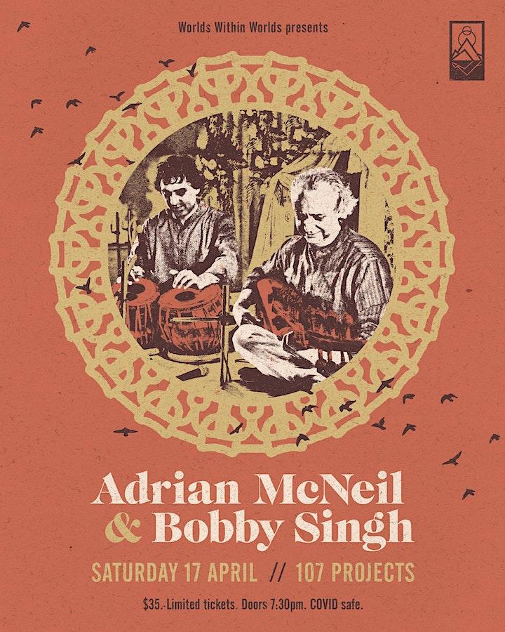 Adrian McNeil & Bobby Singh image