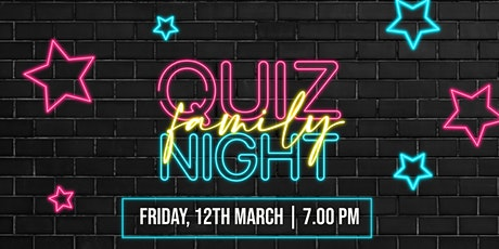 Family Quiz Night tickets