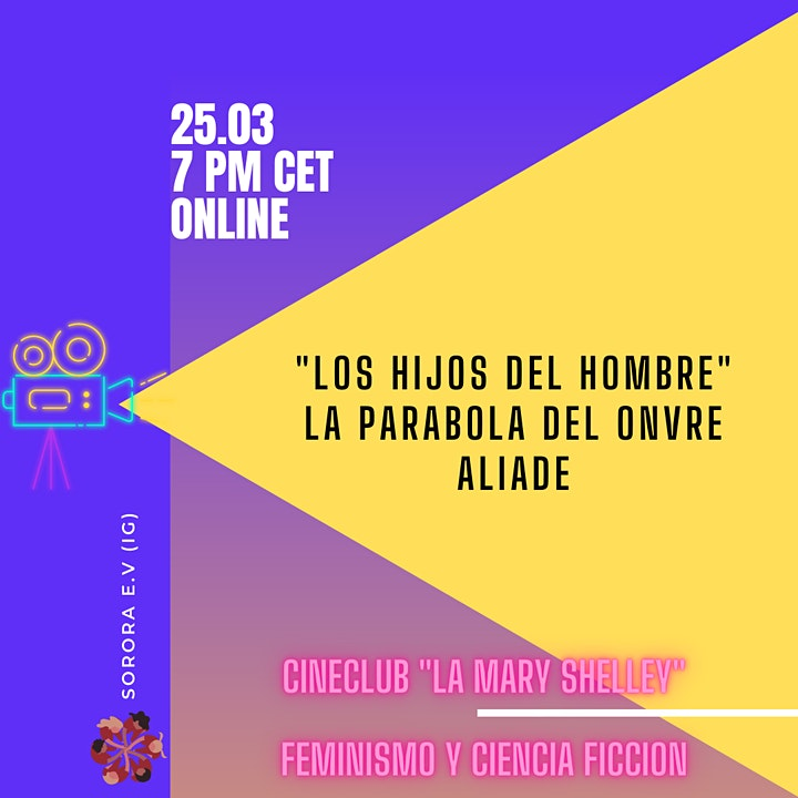 """Cineclub. """"Los hijos del hombre, la parabola del onvre aliade"""" image"""