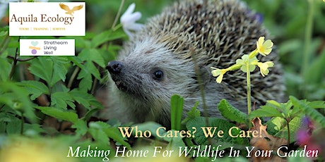 Making Home For Wildlife In Your Garden tickets