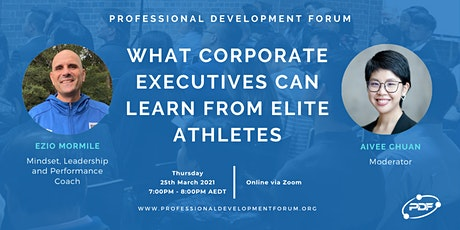 What Corporate Executives Can Learn From Elite Athletes tickets