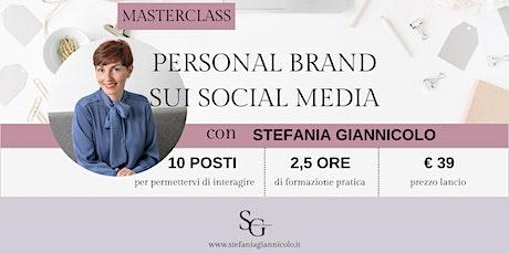 Masterclass Personal Branding sui Social Media biglietti