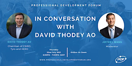 In Conversation with David Thodey AO tickets