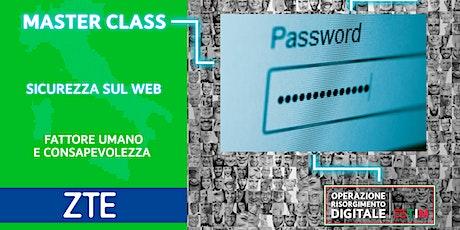 Cybersecurity Avanzato - Fattore umano e consapevolezza biglietti