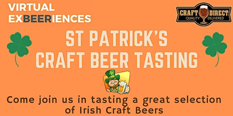 St Patricks Day Virtual Craft Beer Tasting tickets