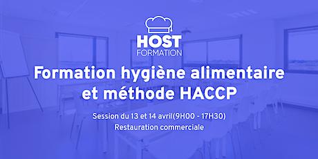 Formation hygiène alimentaire HACCP (Avril) billets