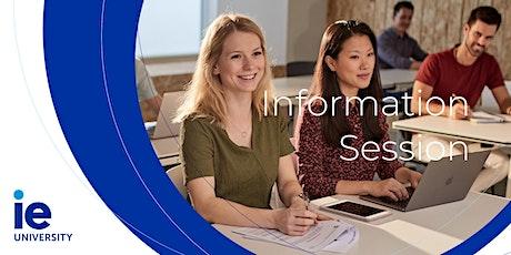 Online Information Session: Master and MBA Programs - FRANCE billets