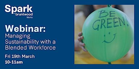 Spark Webinar: Managing Sustainability with a Blended Workforce biglietti