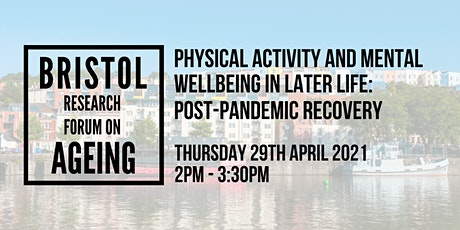 Physical activity & mental wellbeing in later life: post-pandemic recovery tickets
