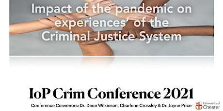 Impact of the pandemic on experiences' of the Criminal Justice System tickets