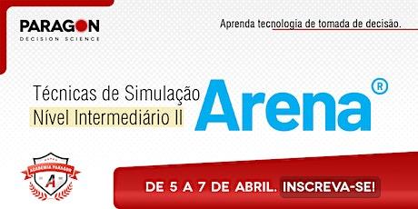 Treinamento Online: Técnicas de Simulação Intermediário II- 5  a 7 de Abril bilhetes