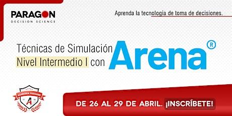 Entrenamiento Online: Técnicas de Simulación Intermedio I-26al 29 Abril entradas