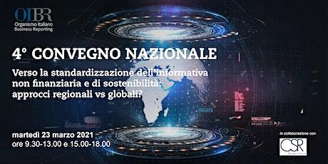 Fondazione OIBR - 4° Convegno Nazionale/OIBR Foundation - Italian Congress biglietti